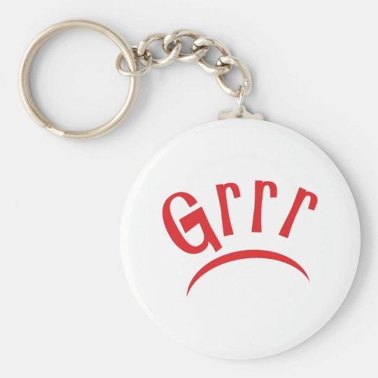 Grrr Schlüsselanhänger