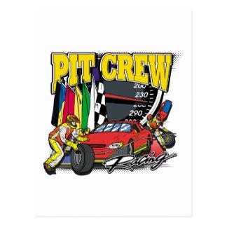 Gruben-Crew-Laufen Postkarte