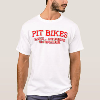 Gruben-Fahrrad-Golf-Schmutz-Fahrradmotocross-T - T-Shirt