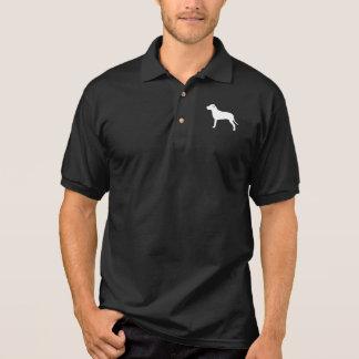Gruben-Stier-HundeSilhouette Polo Shirt