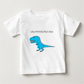 Grumposaurus Rex hellblau Baby T-shirt