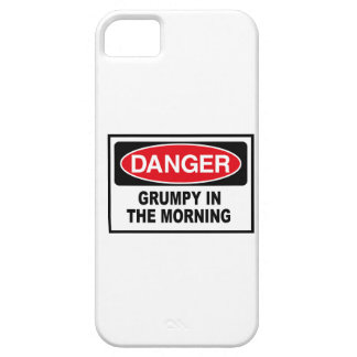 grumpy in the morning iPhone 5 cover