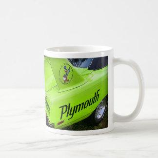 Grün 1970 Plymouths Superbird Kaffeetasse