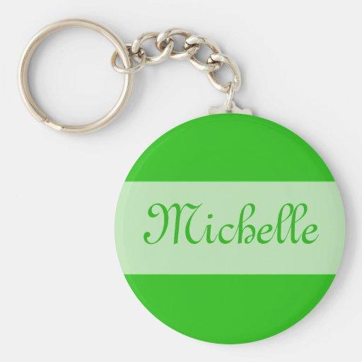 Grün addieren Ihren Namen Schlüsselband