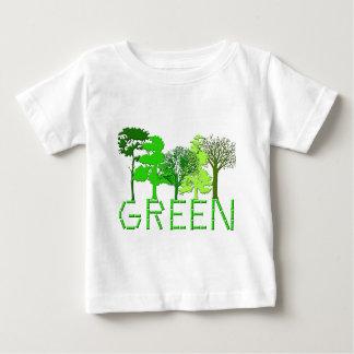 Grün Baby T-shirt
