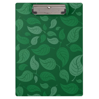 Grün-Blätter Klemmbrett