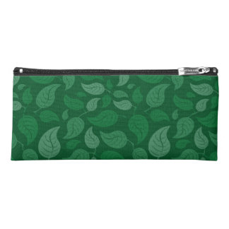 Grün-Blätter Stiftetasche