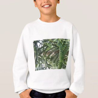 Grün-Blätter Sweatshirt