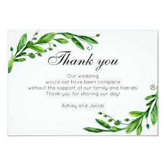 Grün danken Ihnen. Botanische Karte