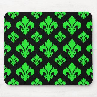 Grün der Lilien-2 Mousepad