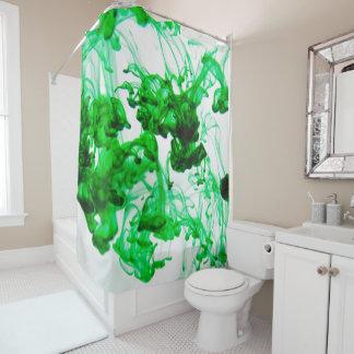 Grün Duschvorhang