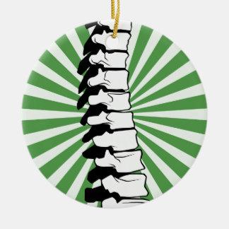 Grün-Explosions-Dorn-Verzierung Keramik Ornament