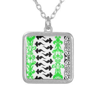 Grün Fleur Gewohnheits-1 Halsketten
