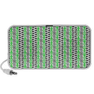 Grün Fleur Gewohnheits-1 PC Lautsprecher