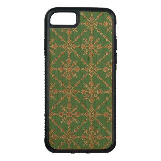 Grün gemustert carved iPhone 8/7 hülle