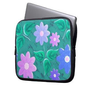Grün gemustert laptopschutzhülle
