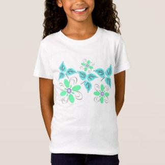 Grün gemustert T-Shirt