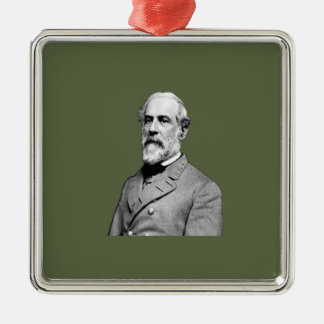 Grün General-Robert E. Lee Army Silbernes Ornament