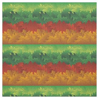 Grün-, Gold-und Rost-Fall-Laub abstrakt Stoff