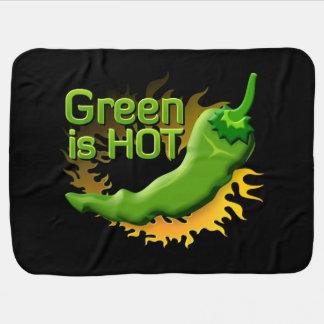 Grün ist HEISS Babydecke