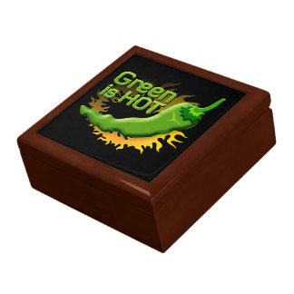 Grün ist HEISS Geschenkbox