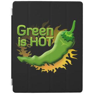 Grün ist HEISS iPad Hülle