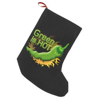 Grün ist HEISS Kleiner Weihnachtsstrumpf