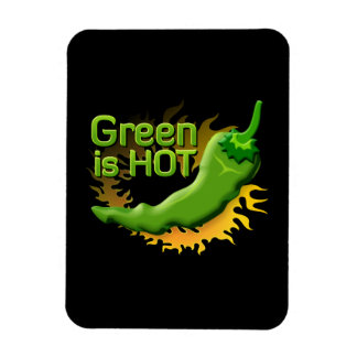 Grün ist HEISS Magnet