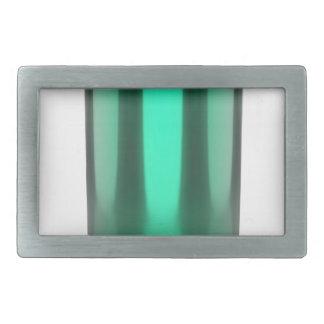 Grün kann rechteckige gürtelschnalle