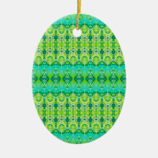 Grün Keramik Ornament