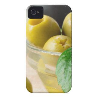 Grün marinierte die Oliven Löcher gebildet Case-Mate iPhone 4 Hülle
