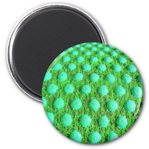 grün MIT grünen Punkten Magnete