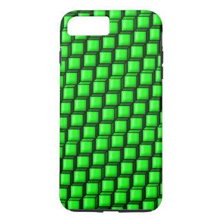 Grün quadriert starke iPhone 7 Plusfall iPhone 8 Plus/7 Plus Hülle