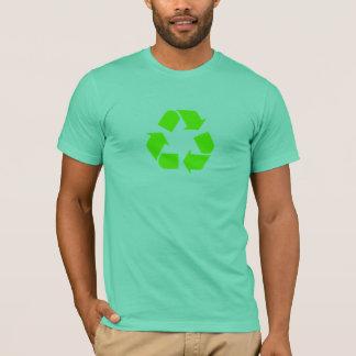 Grün recyceln T-Shirt