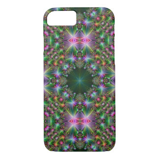 Grün, rosa, Lavendel-Kaleidoskop iPhone Fall iPhone 8/7 Hülle
