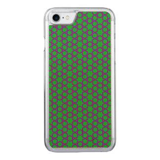 Grün-, Rotes und Blauesgeometrisches abstraktes Carved iPhone 8/7 Hülle