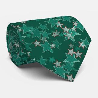Grün-Sterne Individuelle Krawatten