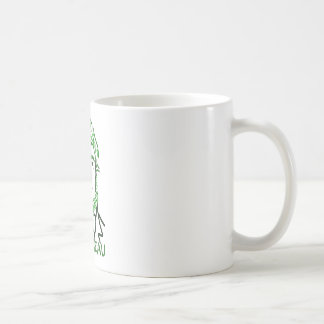 Grün Thoreau-LY Kaffeetasse