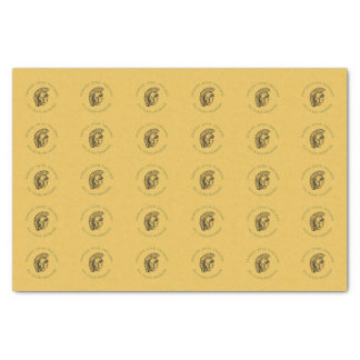 Grün u. GoldTrojan Klassen-Wiedersehen-Papier Seidenpapier