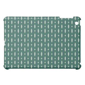 Grün u. Kiefern-wulstiger Vorhang iPad Mini Hülle