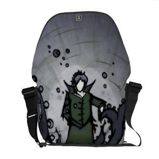 Grün u. Rebe-Zahl Tasche Kurier Tasche