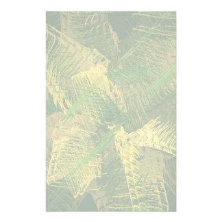 Grün und Gold abstrakt Briefpapier