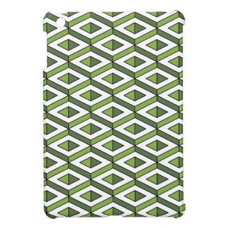 Grün und Kohl der Geometrie 3d iPad Mini Hülle