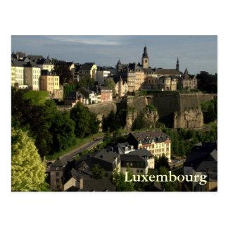 Grund, Luxemburg Postkarte