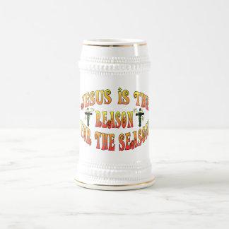 Grund während der Jahreszeit Ostern Bierglas