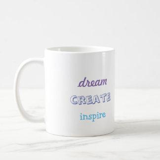 Grund zu träumen kaffeetasse