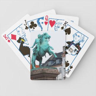Gründer von Kopenhagen Absalon - Højbro Plads Bicycle Spielkarten