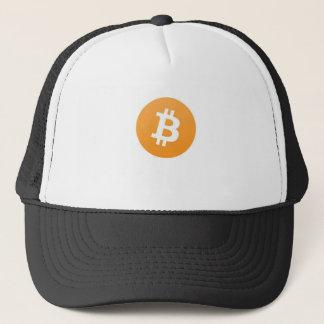 grundlegende bitcoin Linie Truckerkappe