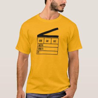 Grundlegende Orange T.Shirt Direktors mit großer T-Shirt