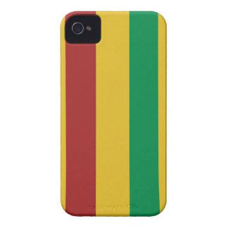 Grundlegende Rasta Streifen iPhone 4 Etuis